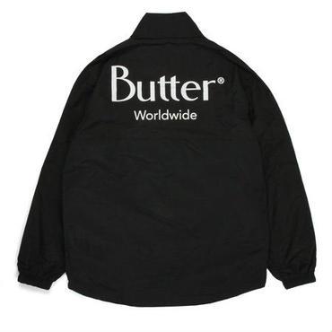 BUTTER GOODS TRACK JACKET-BLACK