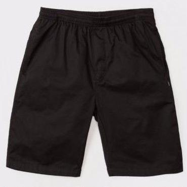 STUSSY Light Twill Beach Short-Black