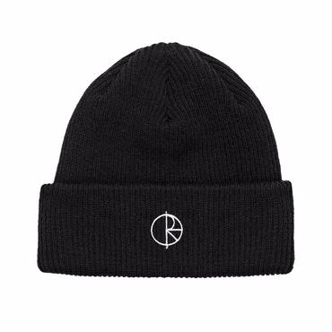 POLAR SKATE CO.STROKE LOGO BEANIE-BLACK