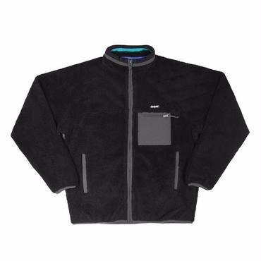 ONLY NY Alpine Fleece Jacket-Black