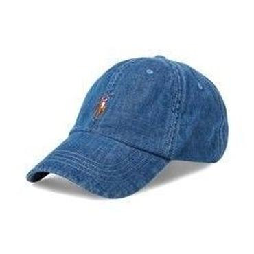 POLO RALPH LAUREN CLASSIC SPORTS CAP - DENIM