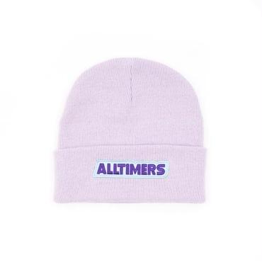 ALLTIMERS TREAT BEANIE LAVENDER