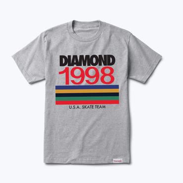 Diamond Supply Co. NINETIES TEE-GREY