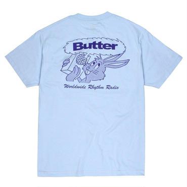 BUTTER GOODS RADIO TEE, POWDER BLUE