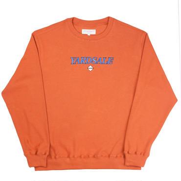 YARDSALE Apricot Holme-lacey sweatshirt
