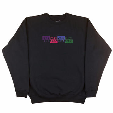 Yardsale  BLACK PANEL SWEATSHIRT