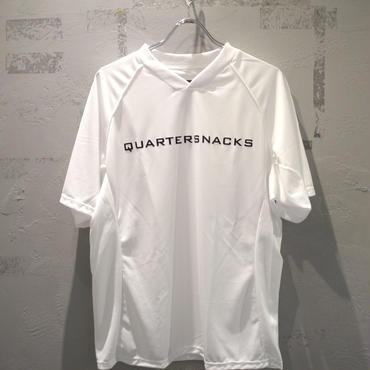 QUARTER SNACKS  INSTITUTE SOCCER JERSEY - WHITE クオータースナックス サッカー ジャージ ホワイト
