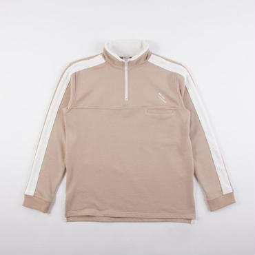 GRIND LONDON REVERSE TRIM TRACK TOP - SAND