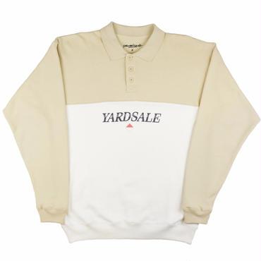 Yardsale  BEIGE/WHITE DIAMOND POLO SWEAT