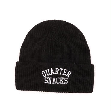 QUARTER SNACKS ARCH BEANIE-BLACK