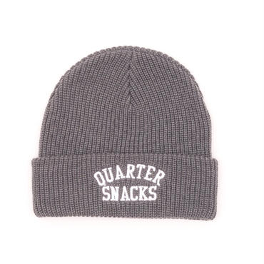 QUARTER SNACKS ARCH BEANIE-GRAY