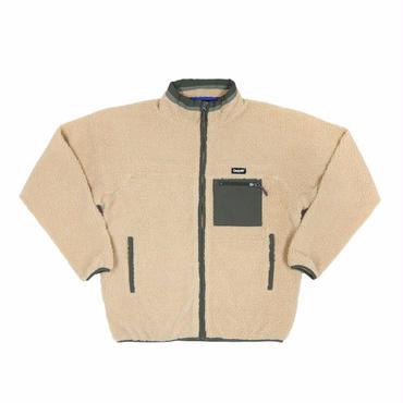 ONLY NY Alpine Fleece Jacket-Camel
