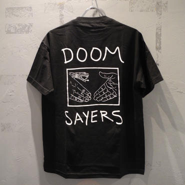 DOOM SAYERS Snake Shake Pocket Tee - Black ドゥームセイヤーズ  Tシャツ ブラック