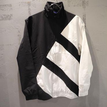 adidas ORIGINALS BOLD TRACKTOP JACKET BLACK WHITE