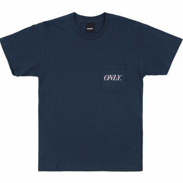 ONLY NY Midtown Pocket T-Shirt-Navy