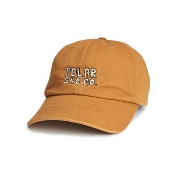 POLAR SKATE CO.  POLAR SK8 CO. CAP-CARAMEL