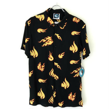T&C SURF DESIGN Flame S/S Shirts