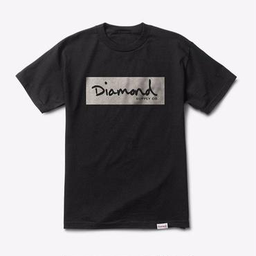 Diamond Supply Co. RADIANT BOX LOGO TEE-BLACK