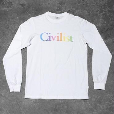 Civilist Drinking Longsleeve – White