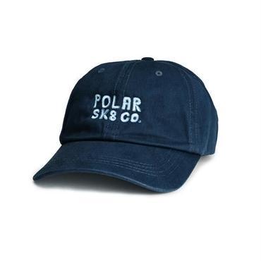 POLAR SKATE CO.  POLAR SK8 CO. CAP- NAVY