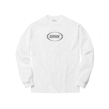 Dime DIME FAST LONG SLEEVE SHIRT-White & Gray.