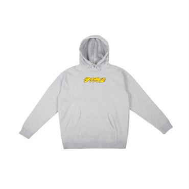 DIME FACES HOODIE-Heather Gray