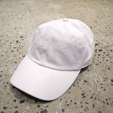 CHAMPION BRUSHED COTTON CAP - WHITE