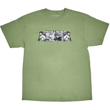 FUCKING AWESOME Preying Tee-MINT
