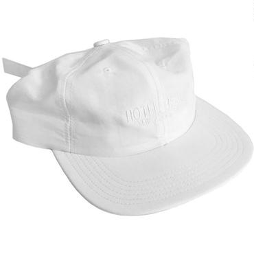 HOTEL BLUE TASLAN LOGO HAT-White-