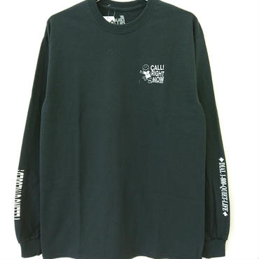 THE QUIET LIFE STRESSED OUT LONG SLEEVE TEE-Black-