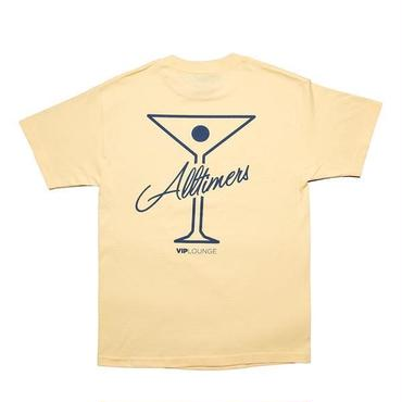 Alltimers LEAGUE PLAYER TEE YELLOW