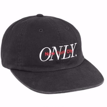 ONLY NY Midtown Polo Hat-Black