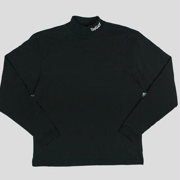 BELIEF CONNECT MOCK NECK - BLACK