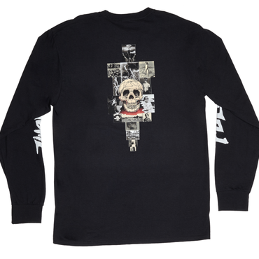 FUCKING AWESOME KB Collage L/S Black