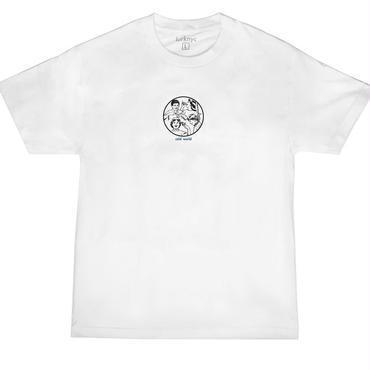 LURK NYC COLD WORLD T-SHIRT WHITE
