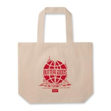 HUF X BUTTER GOODS FEELS LIKE HOME TOTE BAG - NATURAL