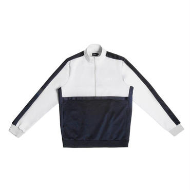 DIME TRACK JACKET-Gray & Navy
