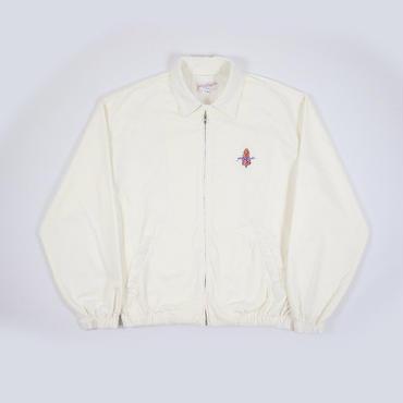 Yardsale  HARRINGTON JACKET-WHITE