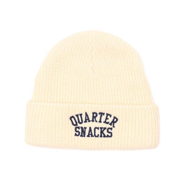 QUARTER SNACKS ARCH BEANIE-NATURAL