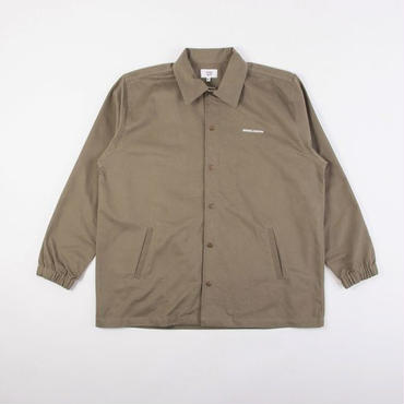 GRIND LONDON COACH JACKET-OLIVE