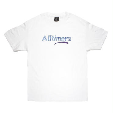 Alltimers ESTATE WATERCOLOR TEE-WHITE