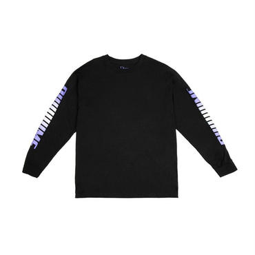DIME SCREAMING LONGSLEEVE T-SHIRT-Black