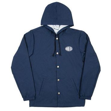 The Good Company Field Hooded Coaches Jacket (navy)