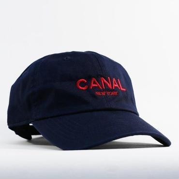 "CANAL NEWYORK ""Adult Headwear"" cap - Navy/Red"