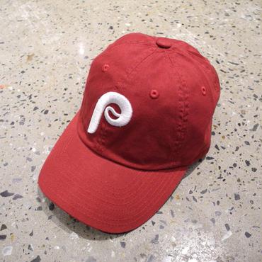 AMERICAN NEEDLE MLB 6PANEL CAP  PHILADELPHIA PHILLIES - MAROON アメリカンニードル 6パネル キャップ フィラデルフィア フィリーズ