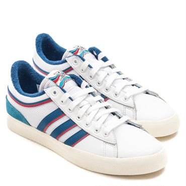 Adidas Alltimers Campus Vulc Shoes White/Blue/Scarlet