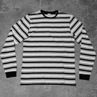 Civilist Striped Pocket Longsleeve – Black/White
