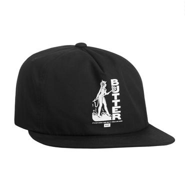 HUF X BUTTER GOODS DEVIL SNAPBACK - BLACK