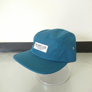 THE QUIET LIFE FOUNDATION 5 PANEL CAP--CARIBBEAN BLUE-