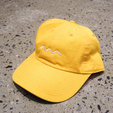 The Good Company WAVE LOGO HAT GOLD